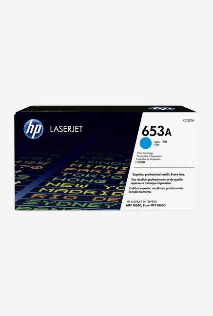 HP 653A LaserJet CF321A Toner Cartridge Cyan