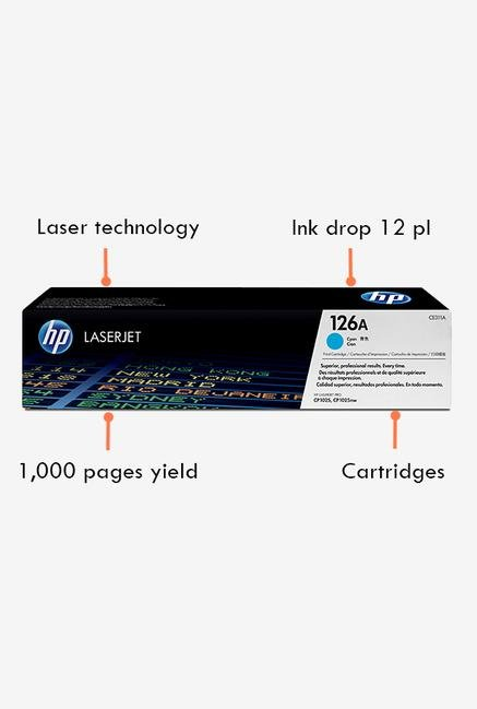 HP 126A LaserJet CE311A Toner Cartridge Cyan