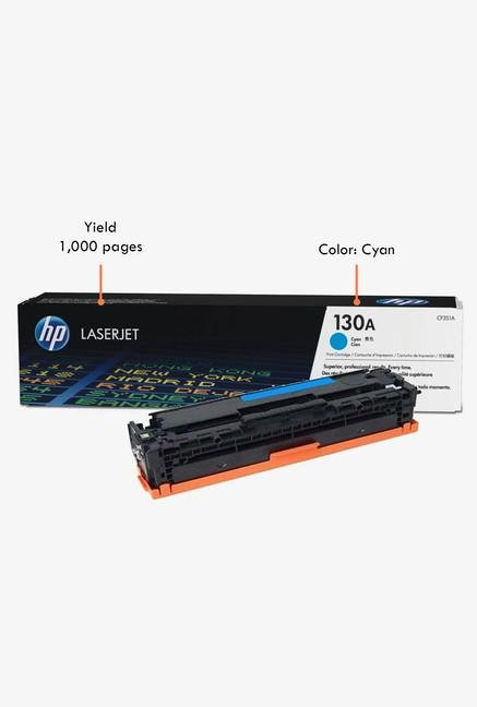 HP 130A LaserJet CF351A Toner Cartridge Cyan