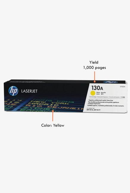 HP 130A LaserJet CF352A Toner Cartridge Yellow