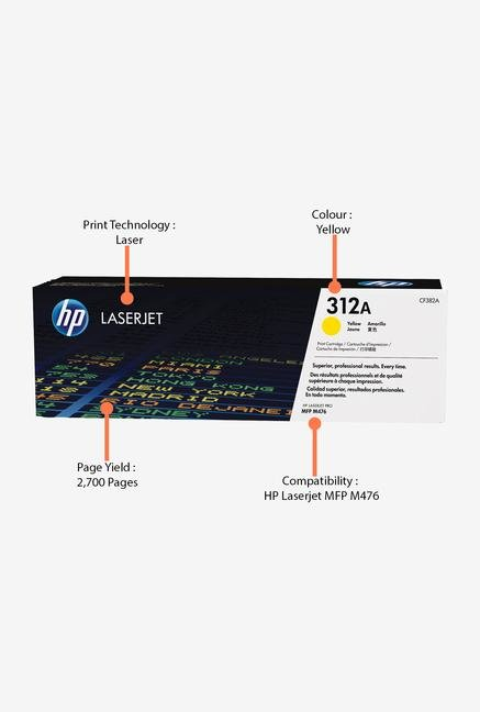 HP 312A LaserJet CF382A Toner Cartridge Yellow