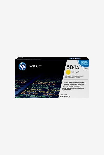 HP 504A LaserJet CE252A Toner Cartridge Yellow