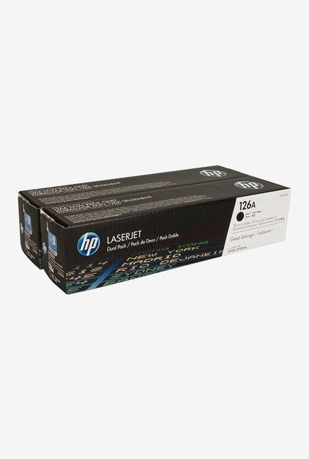 HP 126A 2-Pack LaserJet CE310AD Toner Cartridge Black