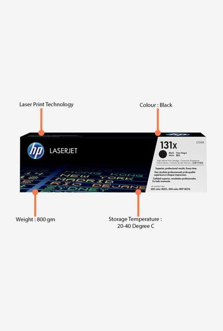 HP 131X LaserJet CF210X Toner Cartridge Black