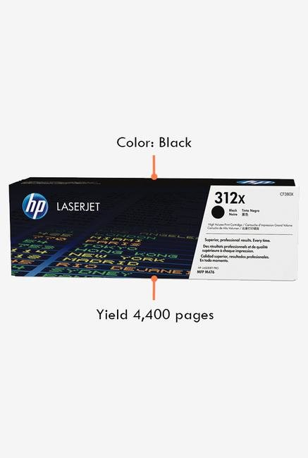 HP 312X LaserJet CF380X Toner Cartridge Black
