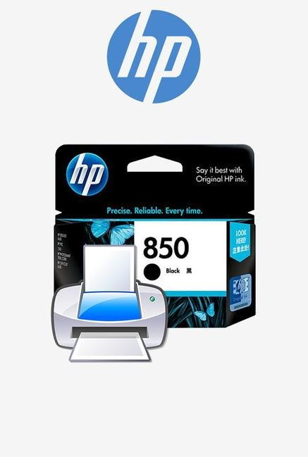 HP 850 C9362ZZ Ink Cartridge Black