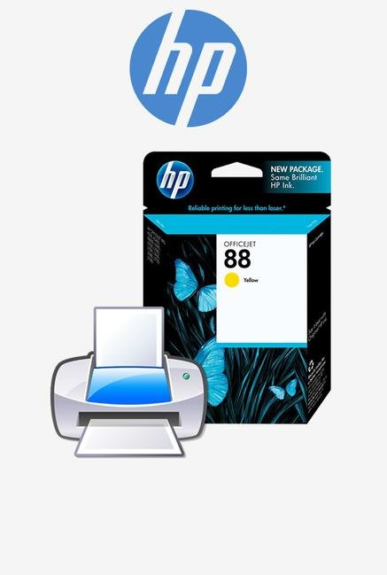 HP 88XL High Yield C9393A Ink Cartridge Yellow