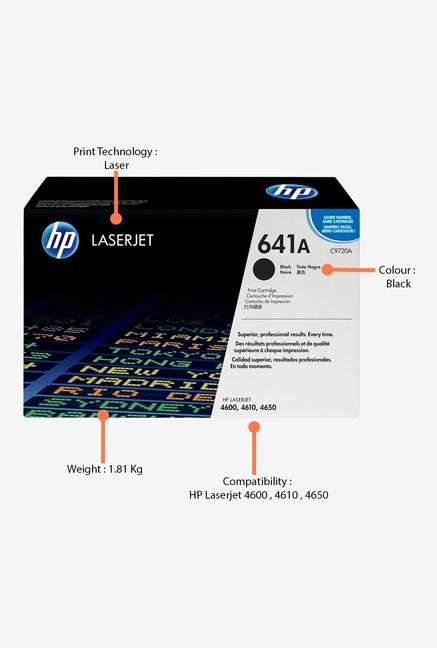 HP 641A LaserJet C9720A Toner Cartridge Black