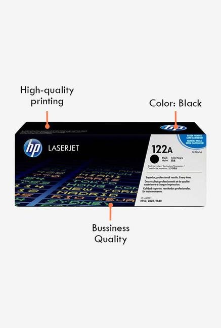 HP 122A LaserJet Q3960A Toner Cartridge Black