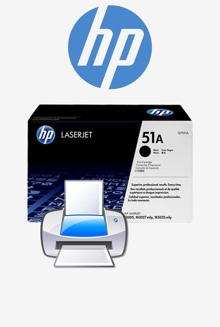 HP 51A LaserJet Q7551A Toner Cartridge Black