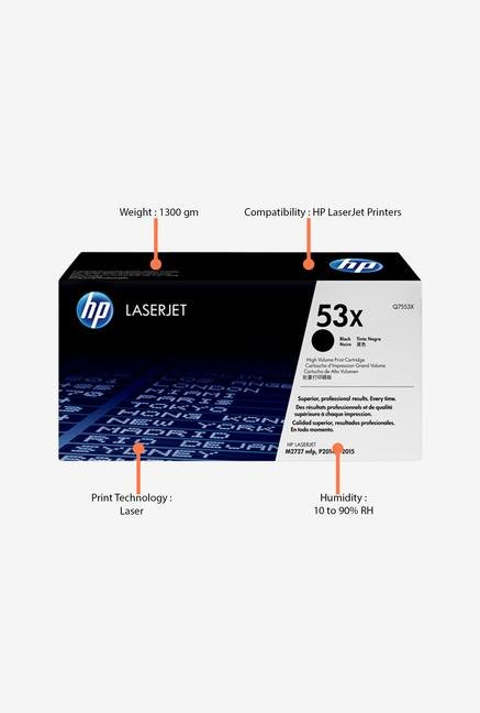 HP 53X LaserJet Q7553X Toner Cartridge Black