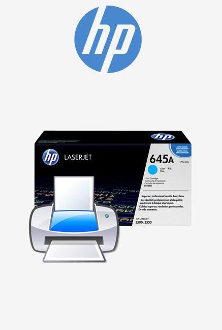 HP 645A C9731A Print Cartridge Cyan