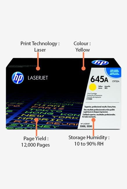 HP 645A C9732A Print Cartridge Yellow