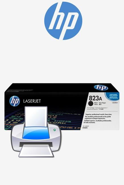 HP 823A LaserJet CB380A Toner Cartridge Black
