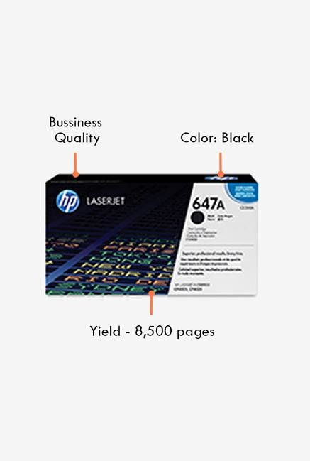 HP 647A LaserJet CE260A Toner Cartridge Black