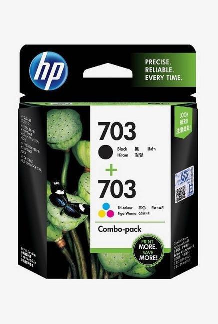 HP 703 F6V32AA 2-Pack Ink Cartridge Multi