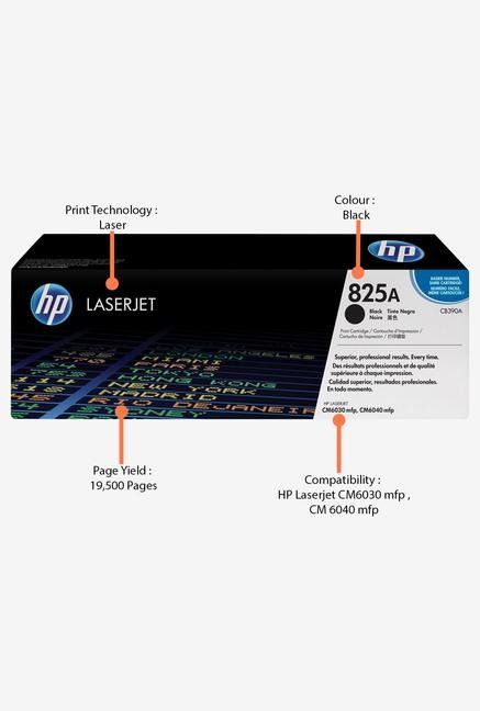 HP 825A LaserJet CB390A Toner Cartridge Black