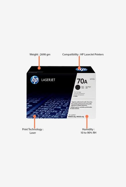 HP 70A LaserJet Q7570A Toner Cartridge Black