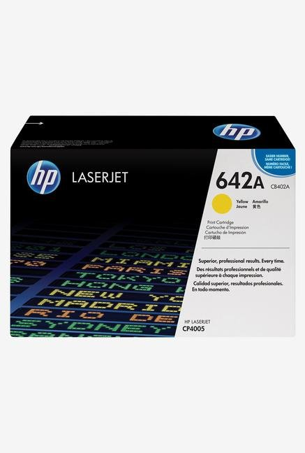 HP 642A LaserJet CB402A Toner Cartridge Yellow