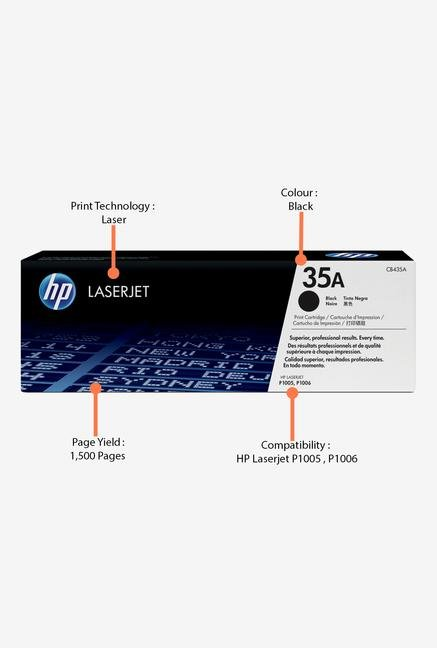 HP 35A LaserJet CB435A Toner Cartridge Black