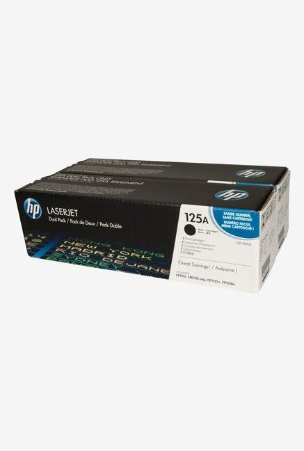 HP 125A 2-Pack LaserJet CB540AD Toner Cartridge Black