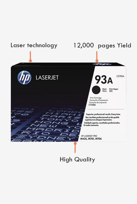 HP 93A LaserJet CZ192A Toner Cartridge Black