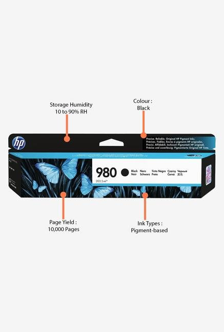 HP 980 D8J10A Ink Cartridge Black