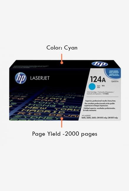 HP 124A Q6001A LaserJet Cartridge Cyan