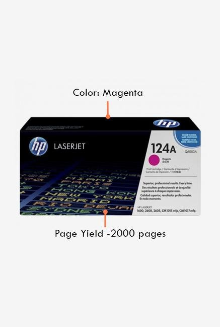 HP 124A Q6003A LaserJet Cartridge Magenta