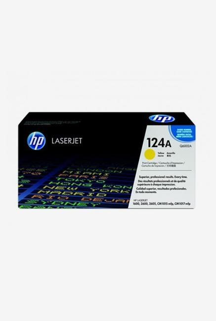 HP 124A Q6002A LaserJet Cartridge Yellow