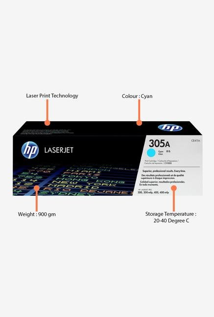 HP 305A LaserJet CE411A Toner Cartridge Cyan