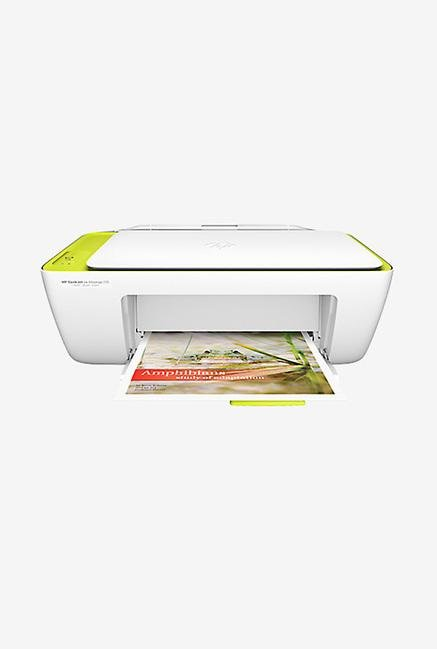 HP Deskjet IA 2135 All In One Inkjet Printer (White)