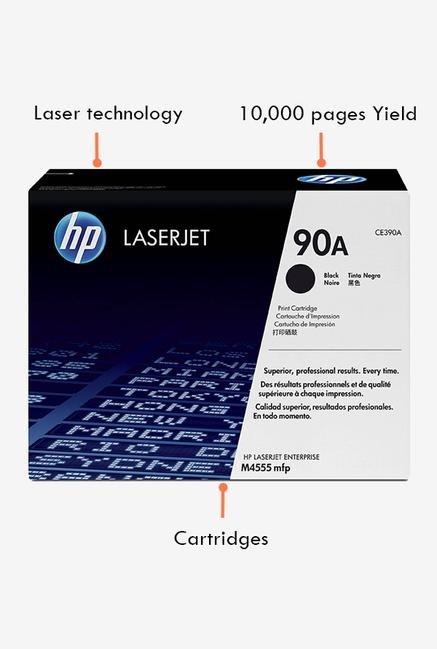 HP 90A LaserJet CE390A Toner Cartridge Black