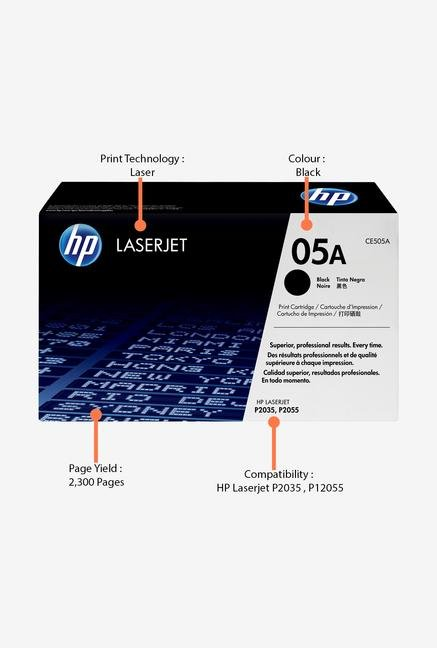 HP 05A CE505A Print Cartridge Black