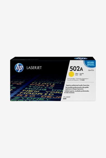 HP 502A LaserJet Q6472A Toner Cartridge Yellow