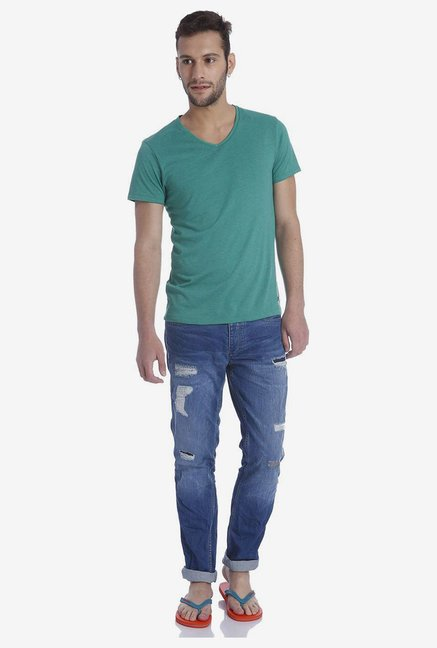 Jack & Jones Green T Shirt