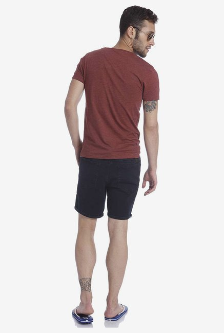 Jack & Jones Maroon T Shirt