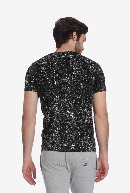 Jack & Jones Black Printed T Shirt
