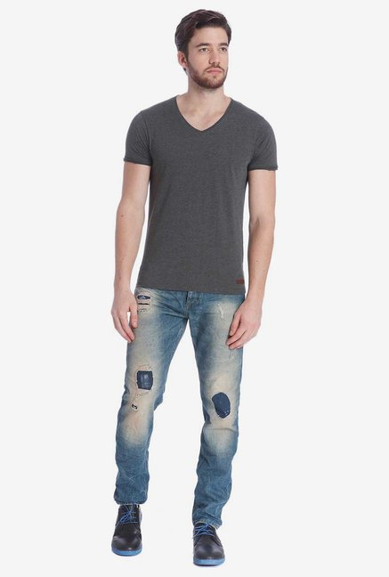 Jack & Jones Dark Grey T Shirt