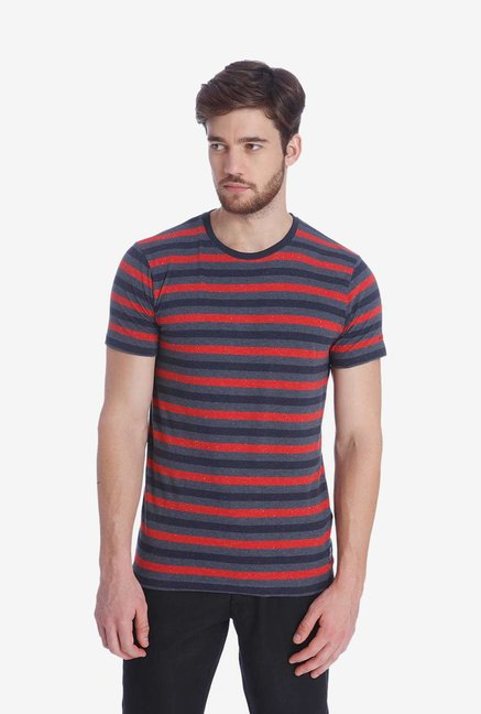 Jack & Jones Multicolor Striped T Shirt