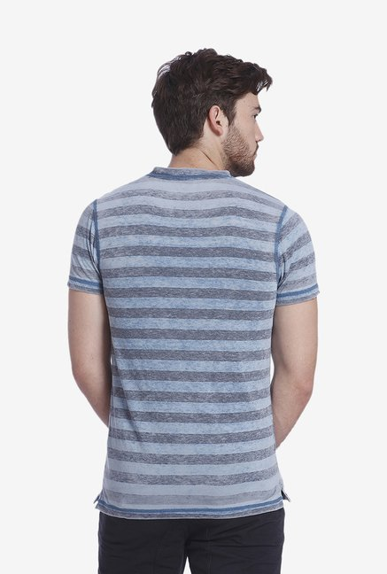 Jack & Jones Blue Striped T Shirt