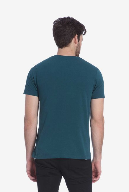 Jack & Jones Dark Green Graphic T Shirt