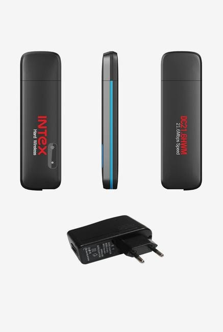 Intex 21.6 Mbps Hard WiFi Modem Data Card Black