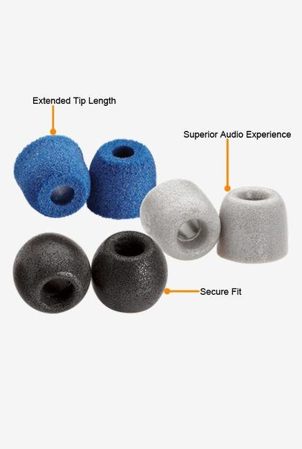 Comply Variety Pack 100-M Ear Plugs Blue,Grey Black