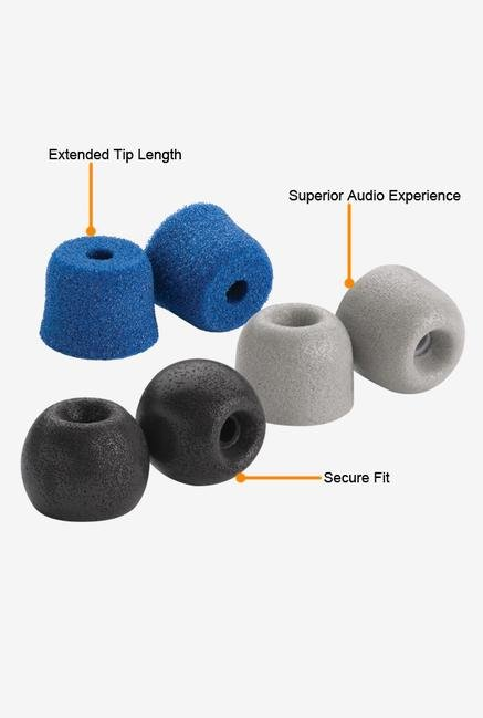 Comply Variety Pack 100-L Ear Plugs Blue,Grey Black