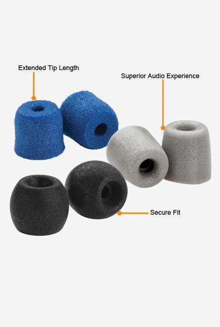 Comply Variety Pack 500-S Ear Plugs Blue,Grey Black