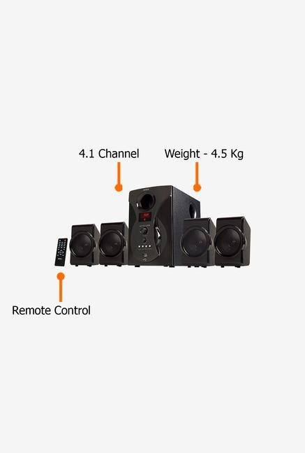 Intex IT-3001 Super FMU OS Multimedia Speaker Black