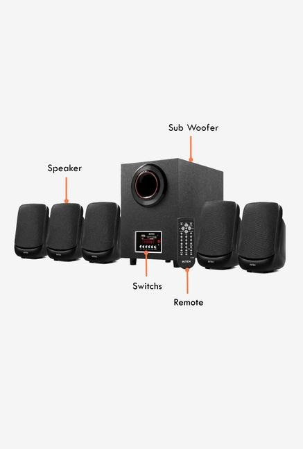 Intex 5.1 IT-5100 SUF OS Multimedia Speaker (Black)