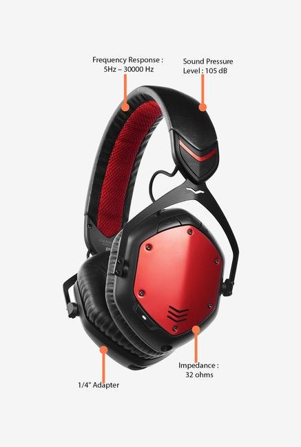 V-Moda - Crossfade Wireless - Rouge Red