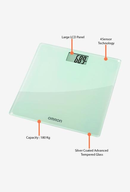 Omron HN 286-AP Weighing Scale White